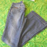 Blugi / Jeans Motivi - Blugi dama, Marime: 36, Bleumarin, Lungi