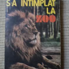 S A INTAMPLAT LA ZOO Mihail Cociu carte hobby animale ilustrata foto alb negru
