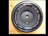 "Obiectiv foto Pentax 2/50 baioneta""K"", Standard, Manual focus"