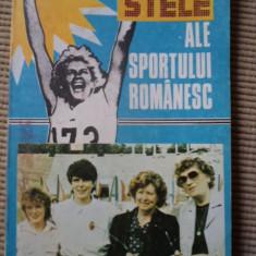 Stele ale sportului romanesc Iolanda Balas Mihail Cociu carte fan sport hobby - Carte sport