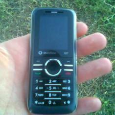 Vand/schimb vodafone 527 - Telefon mobil Vodafone, Negru, Single SIM, Clasic, Micro SD
