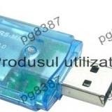 Cititor de carduri SD, MMC - 114020