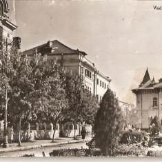 CPI (B972) BUZAU, VEDERE DIN BUZAU, EDITURA MERIDIANE, CPCS, ILUSTRATA CIRCULATA, 1963, STAMPILE - Carte Postala Muntenia dupa 1918, Fotografie