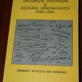 DIPLOMATIA EUROPEANA SI MISCAREA MEMORANDISTA. 1892-1896. DOCUMENTE - Istorie