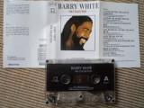 barry white the collection best of hits compilatie caseta audio muzica pop Soul