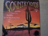 Country Roads disc vinyl lp amiga records muzica country blues rock music, VINIL