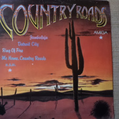 Country Roads disc vinyl amiga records muzica country blues rock music lp, VINIL