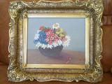 Tablou - Vaza cu flori - pictura ulei