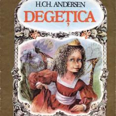 DEGETICA de H. CH. ANDERSEN - Carte poezie copii