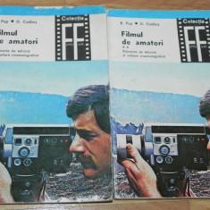 R POP, D CODAUS - FILMUL DE AMATORI. ELEMENTE DE TEHNICA SI CULTURA CINEMATOGRAFICA VOL 1-2 COLECTIA FOTO-FILM - Carte Fotografie