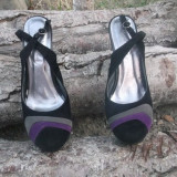 Pantofi divini pentru o dama stilata - Pantof dama, Culoare: Multicolor, Marime: 38, Multicolor