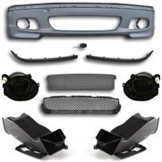 Bara M tehnic fata completa cu proiectoare si TUNELE AER - BMW Seria 3 E46 (1998 - 2005 ) - Bara Fata Tuning