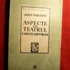 Alice Voinescu - Aspecte din Teatrul Contemporan - I.Ed. 1941 - Studiu literar