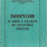 Indrumator de ungere a utilajelor din exploatarile forestiere