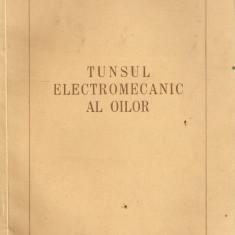 Tunsul electromecanic al oilor