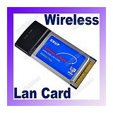 adaptor placa de retea wireless wifi 54 mbps  802.11 b/g pcmcia