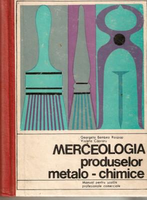 Merceologia produselor metalo-chimice foto