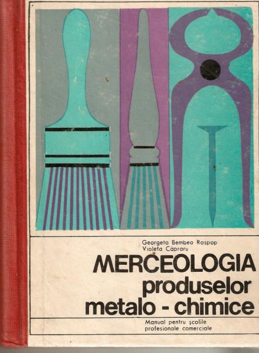 Merceologia produselor metalo-chimice foto mare