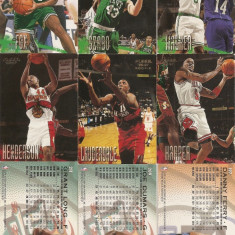 Cartonase baschet NBA Fleer 1996-1997