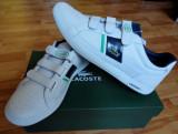 Adidasi pantofi Lacoste Europa, Alb