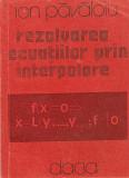 Rezolvarea ecuatiilor prin interpolare, Alta editura