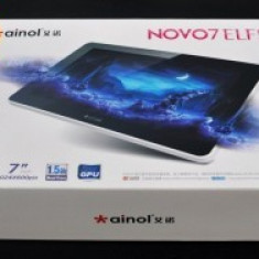 vand tableta novo7 Elf II, ecran capacitiv 7 inches, android 4.0, 1.5GHz, dual core, 1024*600, 1GB DDR3, 8GB, camera 2mpx, HDMI, WIFI