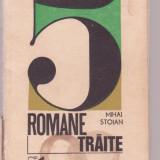 Mihai Stoian - 5 romane traite, Anul publicarii: 1972