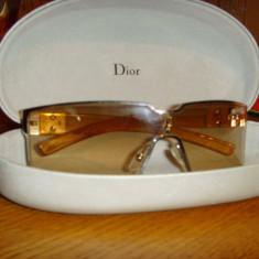 Ochelari de soare DIOR de vanzare 1.200 lei, Femei, Bej, Patrati, Protectie UV 100%