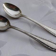 Doua lingurite din alpacca argintate (22), Tacamuri