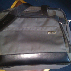 Vand geanta laptop ASUS, 15 inch, Poliester, Gri