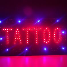 Panou cu lumini tip TATTOO pentru tatuat