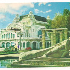 Carte postala(ilustrata)-CONSTANTA -Cazinoul - Carte Postala Dobrogea dupa 1918, Circulata, Printata