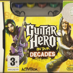 JOC NINTENDO DS GUITAR HERO ON TOUR DECADES ORIGINAL PAL / STOC REAL / by DARK WADDER - Jocuri Nintendo DS Activision, 3+, Single player