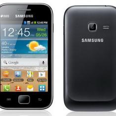 Samsung S6802 Galaxy Ace, Dual SIM - Telefon mobil Samsung Galaxy Ace Duos, Negru, Neblocat