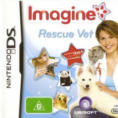 JOC NINTENDO DS IMAGINE RESCUE VET ORIGINAL / STOC REAL / by DARK WADDER - Jocuri Nintendo DS Ubisoft, 3+, Single player