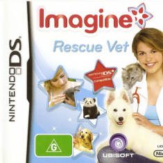 JOC NINTENDO DS IMAGINE RESCUE VET ORIGINAL / STOC REAL / by DARK WADDER - Jocuri Nintendo DS Ubisoft, 3+, Single player