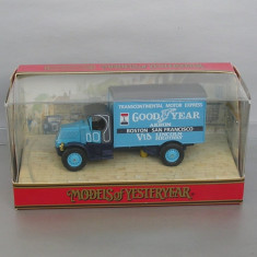 Camion Mack AC 1930 Good Year, Matchbox Yesteryear