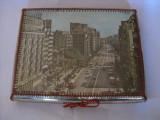 REDUCERE 25 LEI!!! CUTIE UNICATA DE COLECTIE PENTRU JOC DE TABLE,LUCRATA MANUAL IN ANII 60