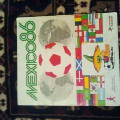 Catalog panini Mexic 1986 si Euro 1988