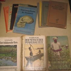 Kosmos2- set diverse serii-carti almanah germane vechi tematica stiinta-11 buc. - Carte veche