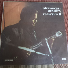 Alexandru Andries Rock n roll album disc vinyl lp muzica rock folk electrecord, VINIL