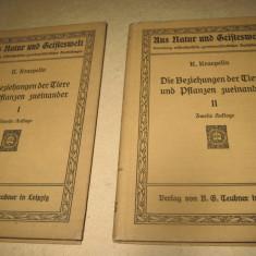 Set carti germane vechi diferite- 13 buc. Pret pe lot. - Carte veche