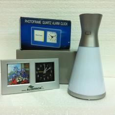"""Proiector ceas cu led """"Perignon"""" / Bonus: Ceas de birou cu rama foto"""
