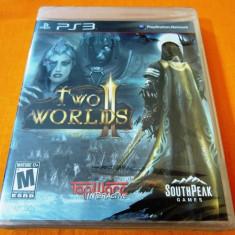 Joc Two Worlds II, PS3, original si sigilat, alte sute de jocuri! - Jocuri PS3 Altele, Actiune, 18+, Single player