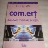 Com.ert AVANTAJELE VANZARII IN RETEA - Bill Quain - Carte Marketing