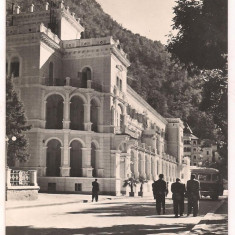 Carte postala(ilustrata)-BAILE HERCULANE-Sanatoriul balnear