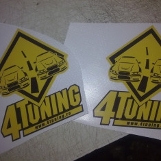Sticker autocolant 4 tuning original - Stickere tuning