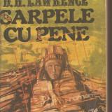 (C2665) SARPELE CU PENE DE D. H. LAWRENCE, EDITURA CARTEA ROMANEASCA, BUCURESTI, 1989