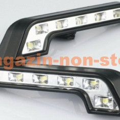 Lumini de zi DRL 6led Design Mercedes New Look, Universal