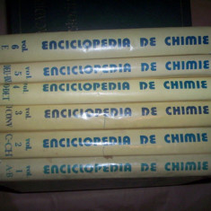 Enciclopedia de chimie(volumul 1+2+3+4+5+6)